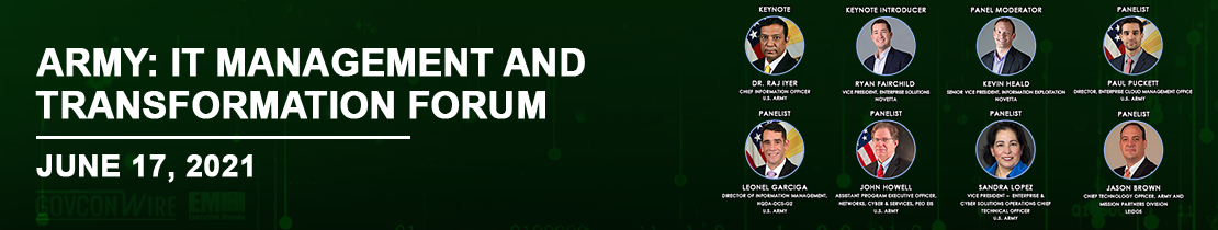 Army: IT Management and Transformation Forum