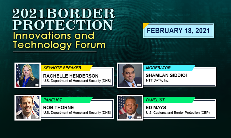 POC - 2021 Border Protection Innovations and Technology Forum