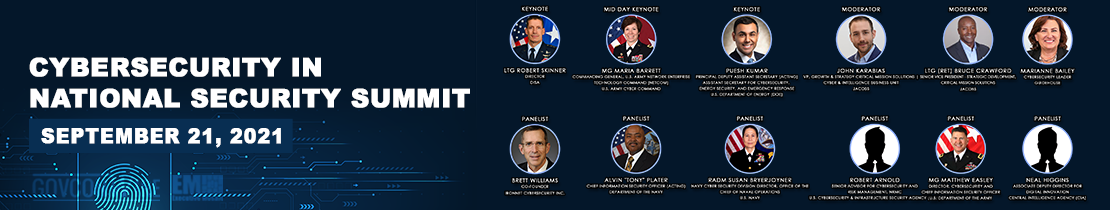 Cybersecurity in National Security Summit