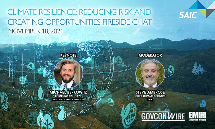 Climate Resilience: Reducing Risk and Creating Opportunities Fireside Chat