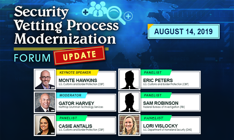 Security Vetting Process Modernization Update